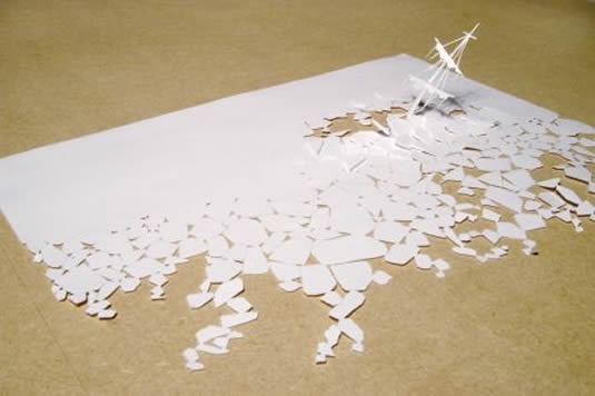 a blank piece of paper whatever you are be a good one